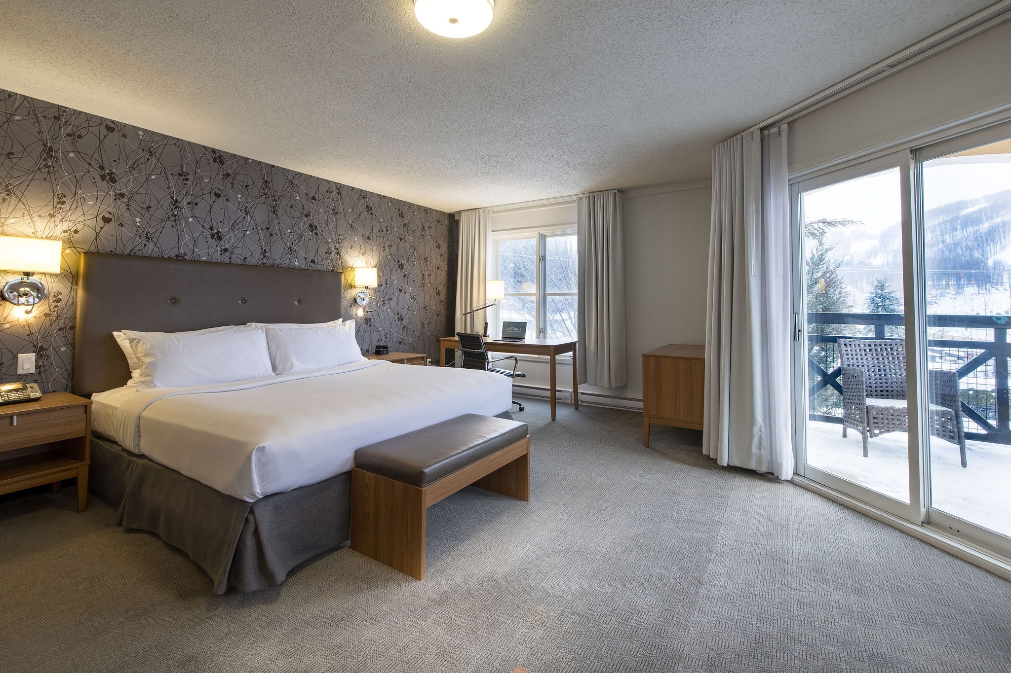 Deluxe Rooms - Domaine Château Bromont