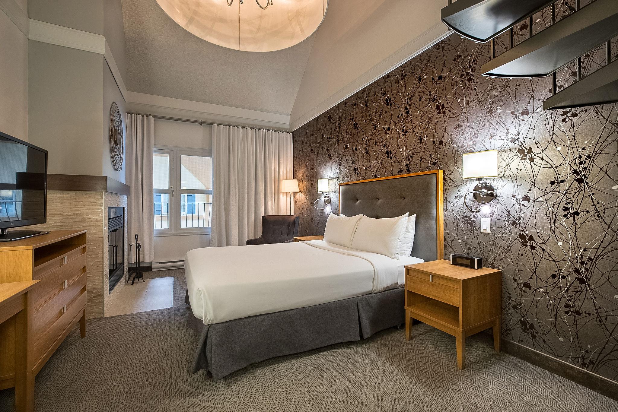 Junior suites | 2 beds - Domaine Château Bromont