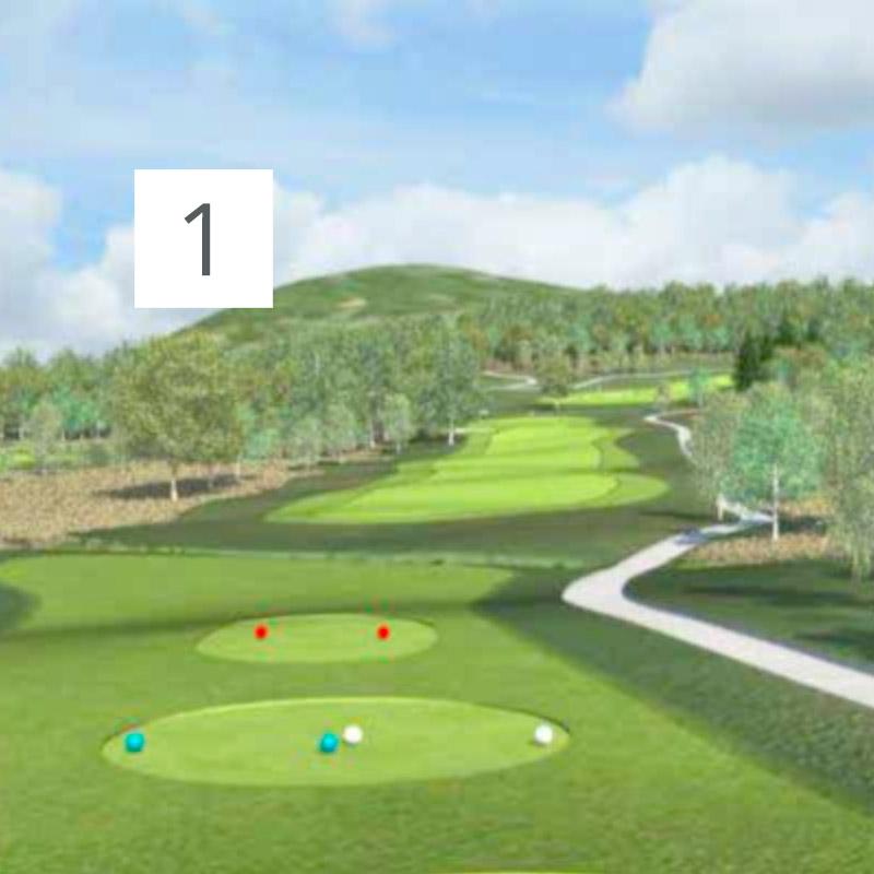 Parcours Golf Château-Bomont - 1
