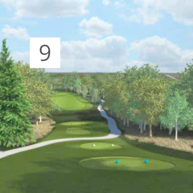 Parcours Golf Château-Bomont - 9
