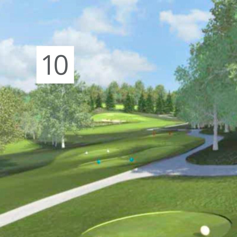 Parcours Golf Château-Bomont - 10