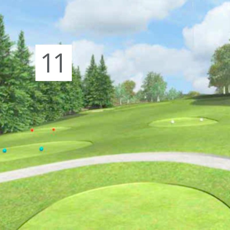 Parcours Golf Château-Bomont - 11