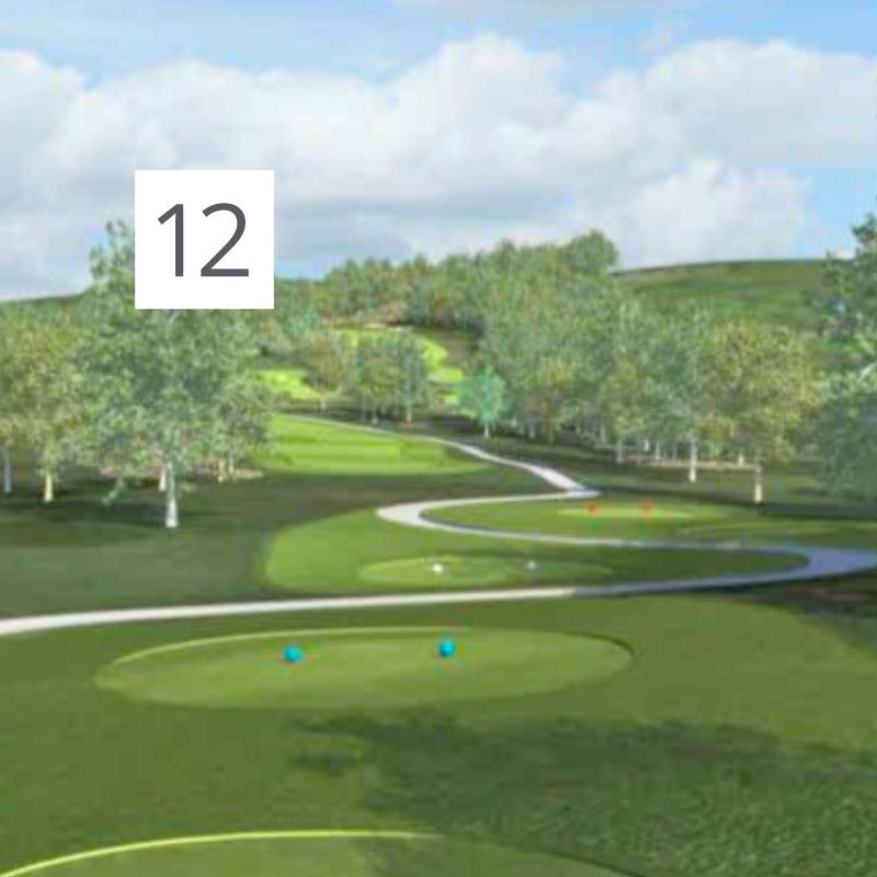Parcours Golf Château-Bomont - 12