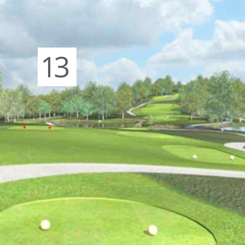 Parcours Golf Château-Bomont - 13