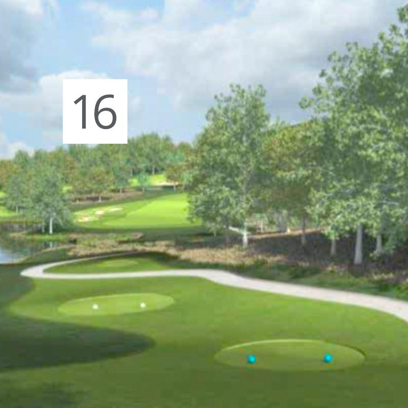 Parcours Golf Château-Bomont - 16