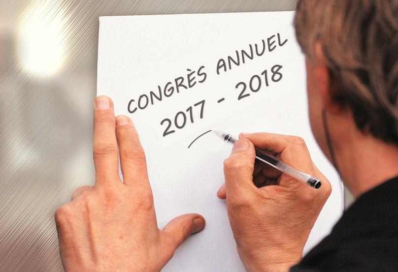 Congrès | Réunion annuelle