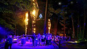 Foresta Lumina - parc de la Gorge de Coaticook