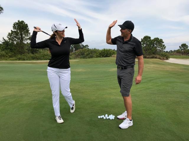 Enseignement du golf avec Jérôme Blais