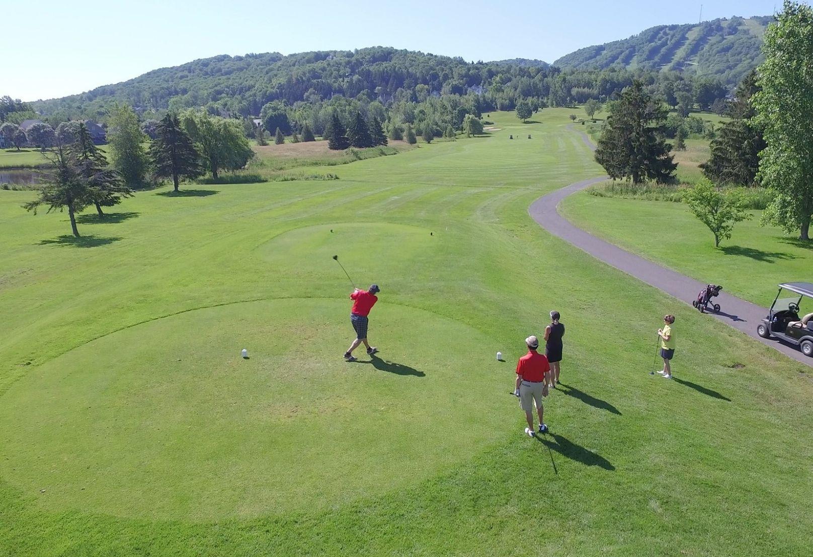 Forfaits golf Château-Bromont - Réservations 1 888 276-6668