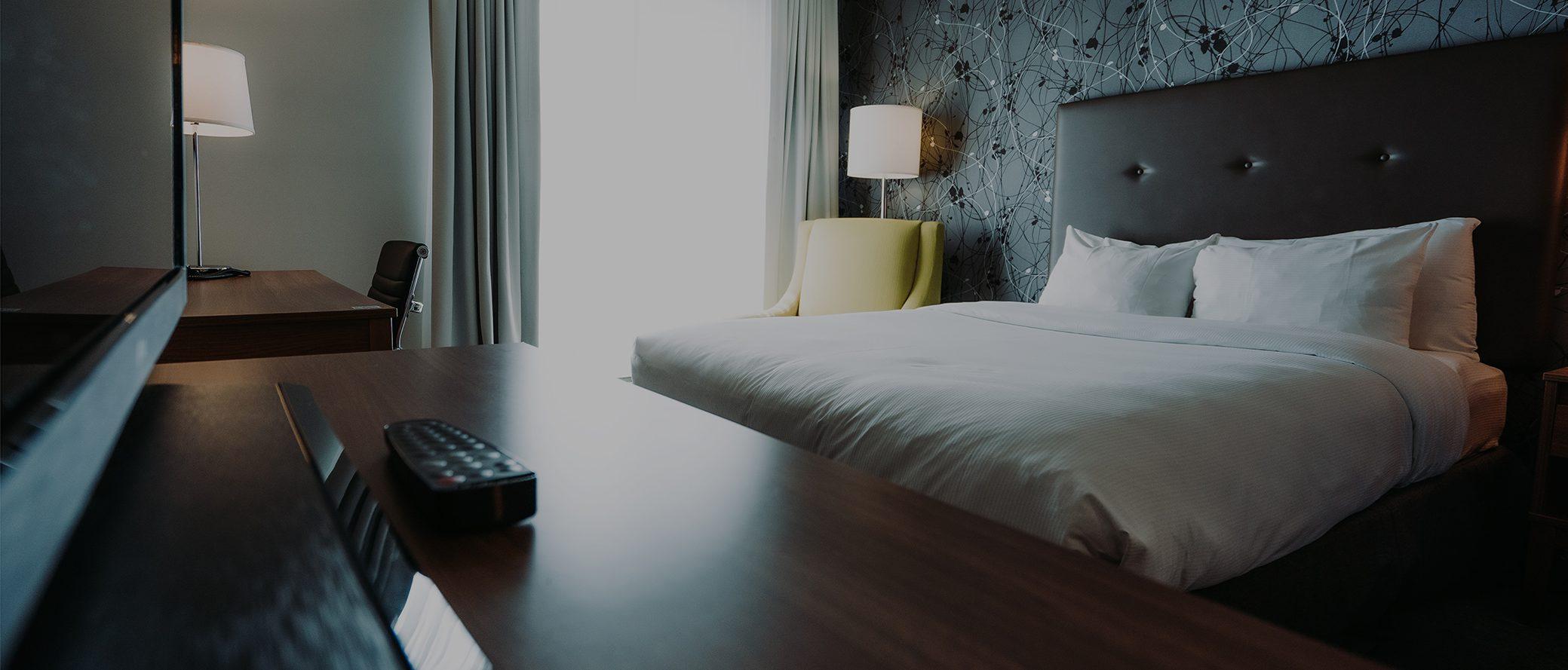 Chambre en hotel - 30% opacité